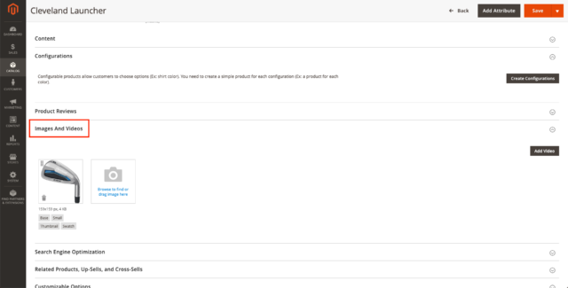 magento on-page product optimization